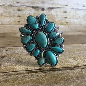 Natural Turquoise Cuff